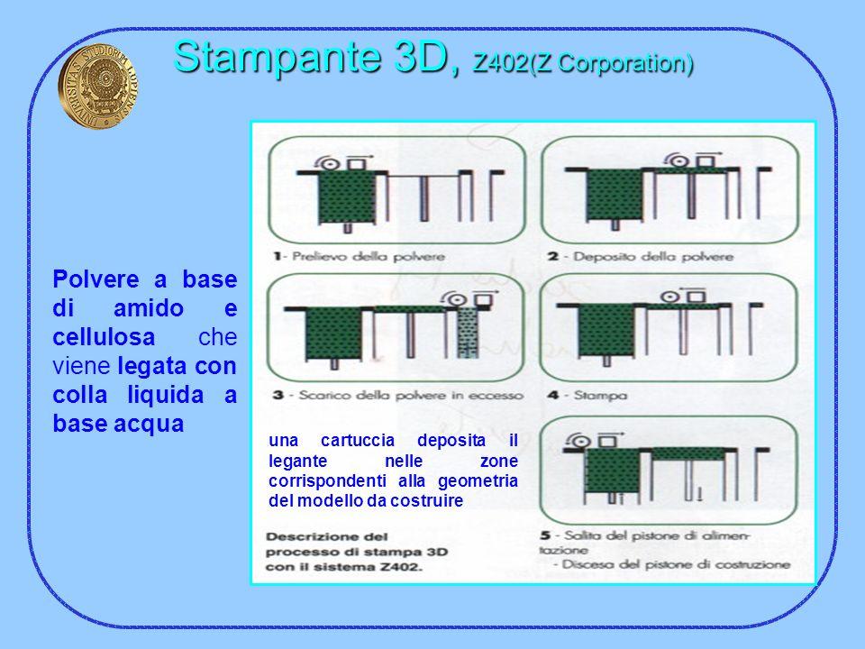 Stampante 3D, Z402(Z Corporation)