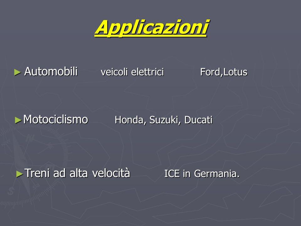 Applicazioni Automobili veicoli elettrici Ford,Lotus