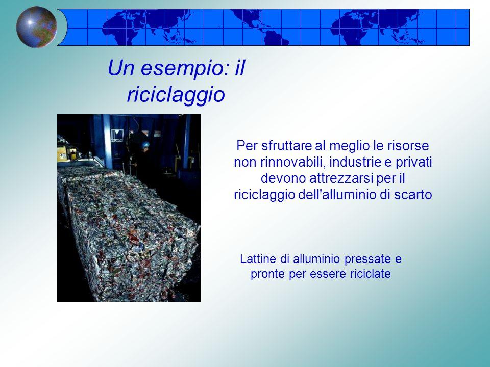Un esempio: il riciclaggio