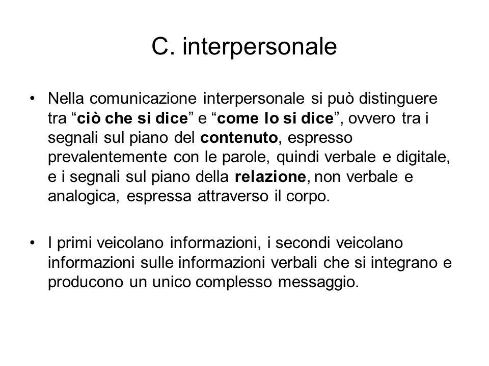 C. interpersonale