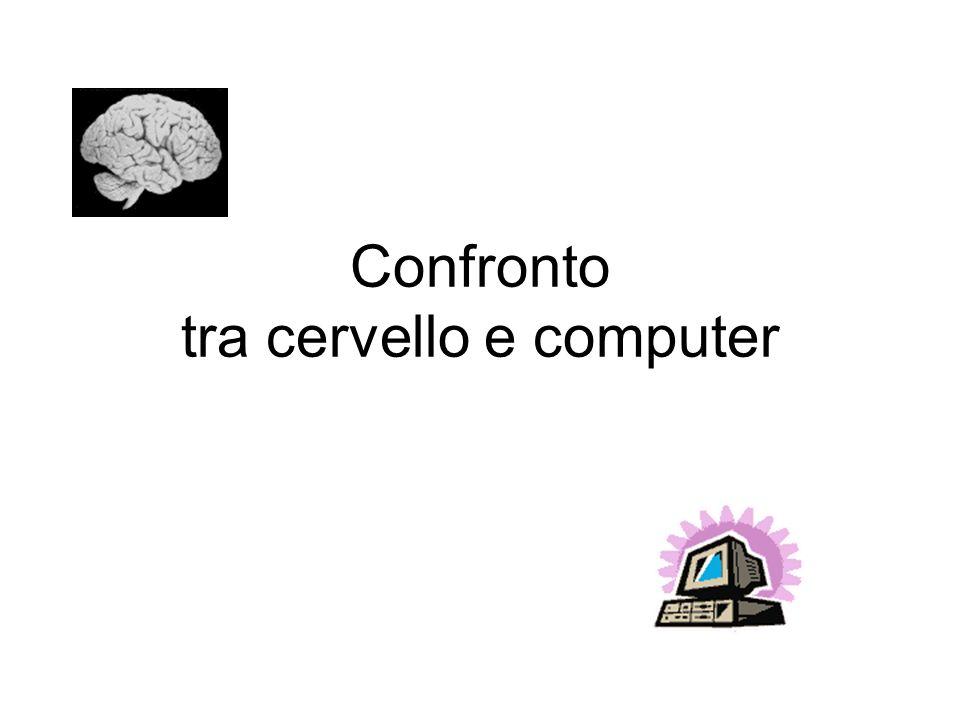 Confronto tra cervello e computer