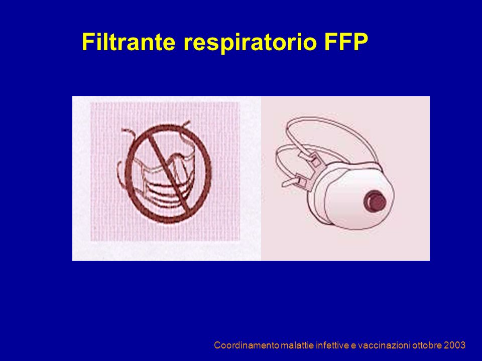 Filtrante respiratorio FFP