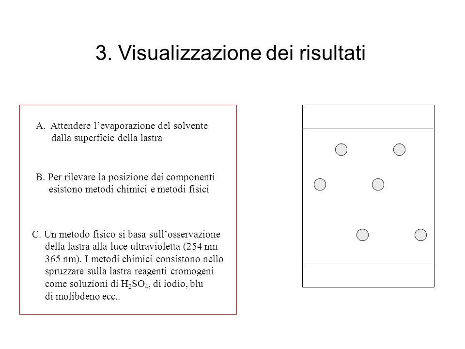 3. Visualizzazione dei risultati