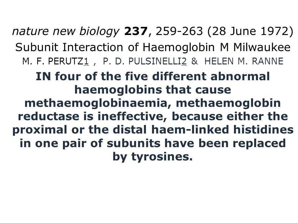 nature new biology 237, 259-263 (28 June 1972)
