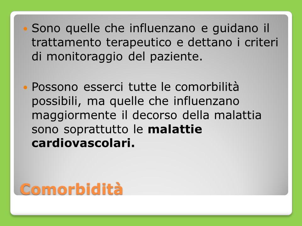 Sono quelle che influenzano e guidano il trattamento terapeutico e dettano i criteri di monitoraggio del paziente.