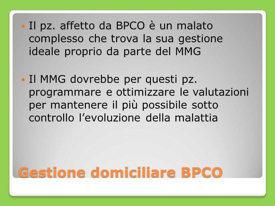 Gestione domiciliare BPCO
