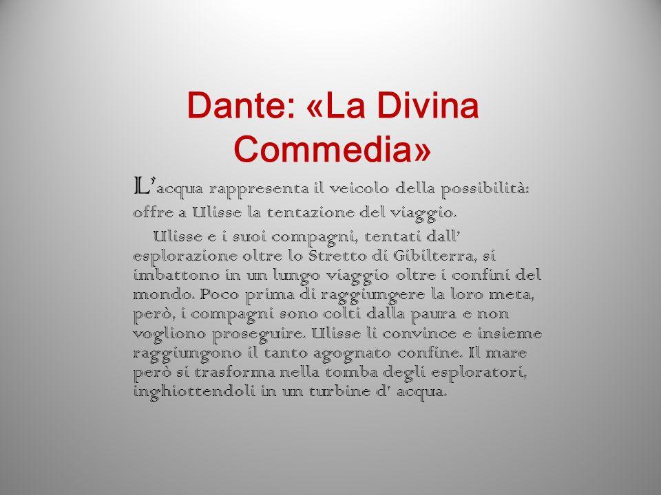 Dante: «La Divina Commedia»