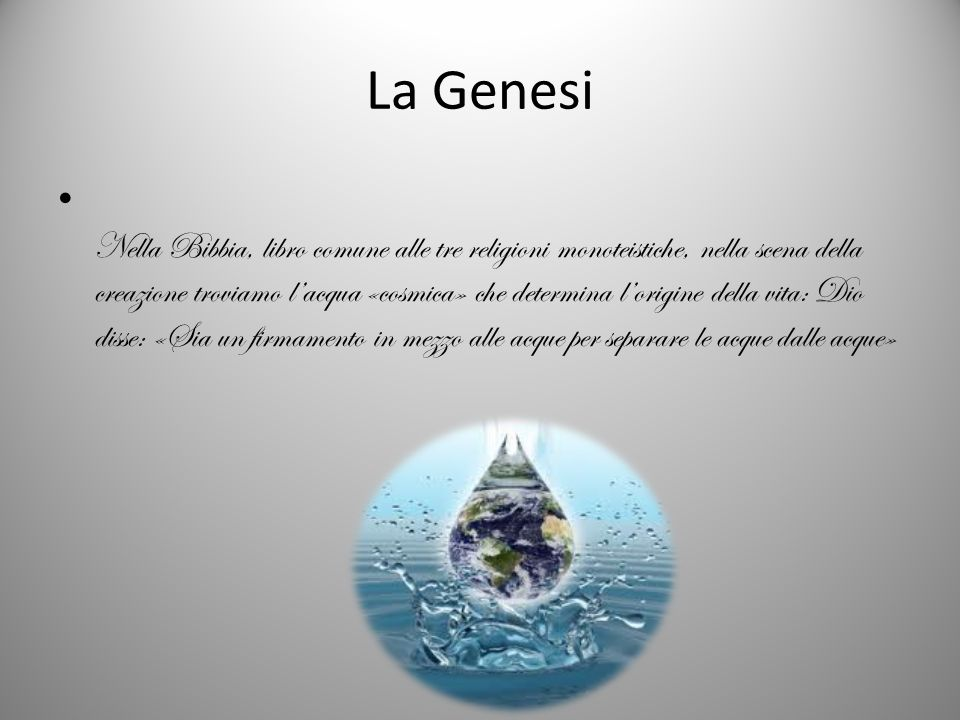 La Genesi