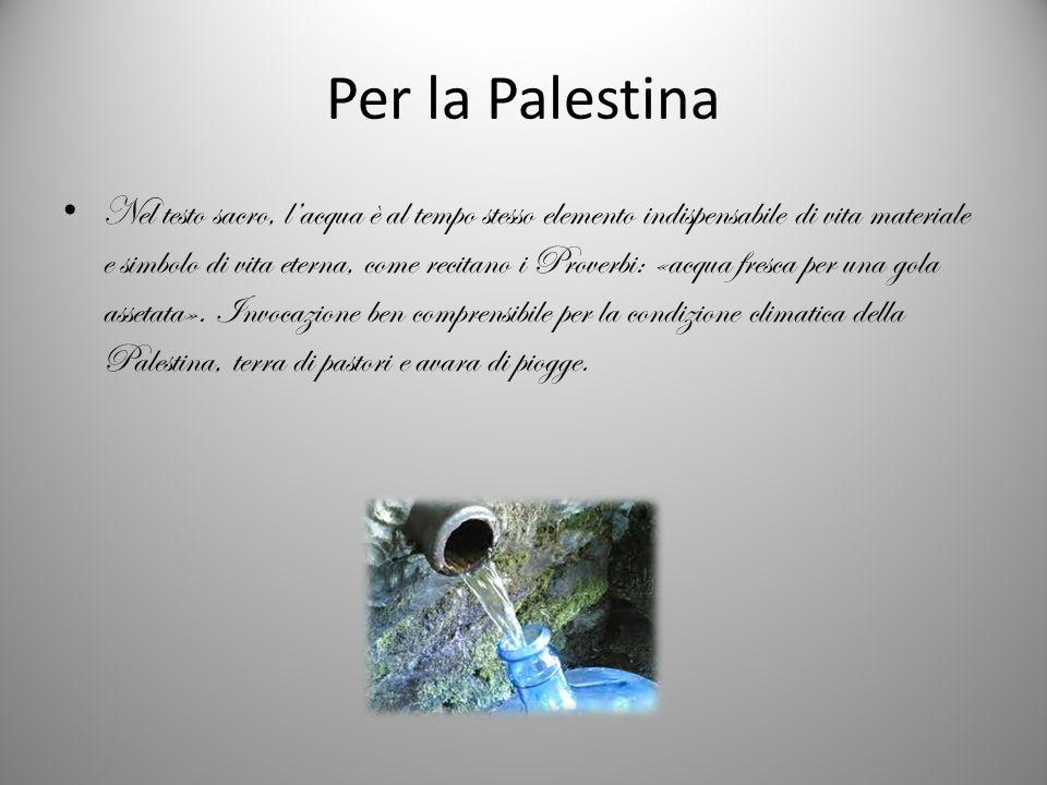 Per la Palestina