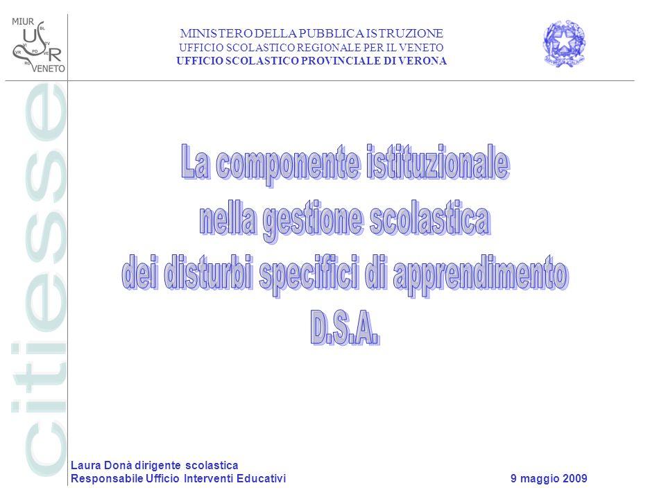 La componente istituzionale nella gestione scolastica