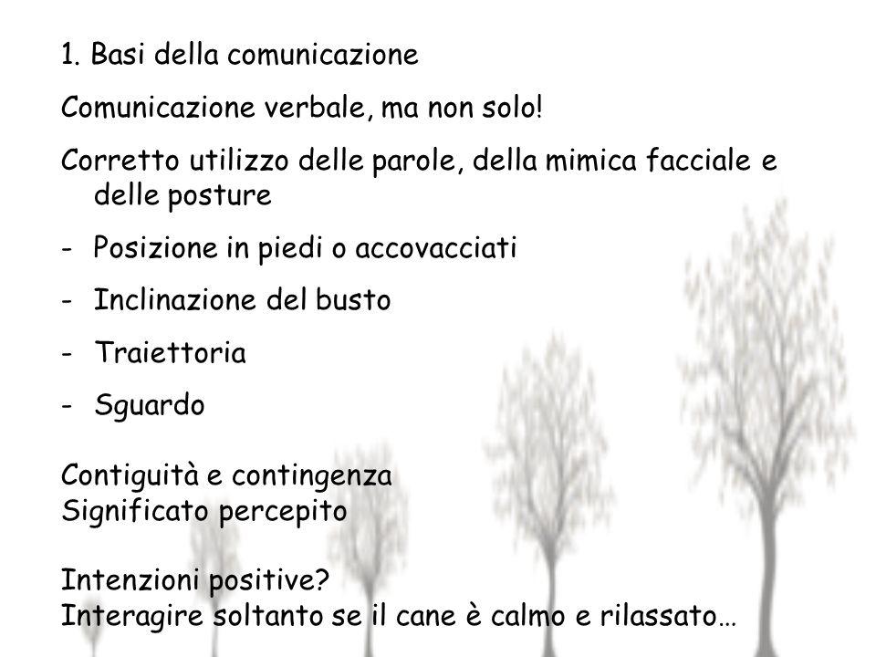 1. Basi della comunicazione