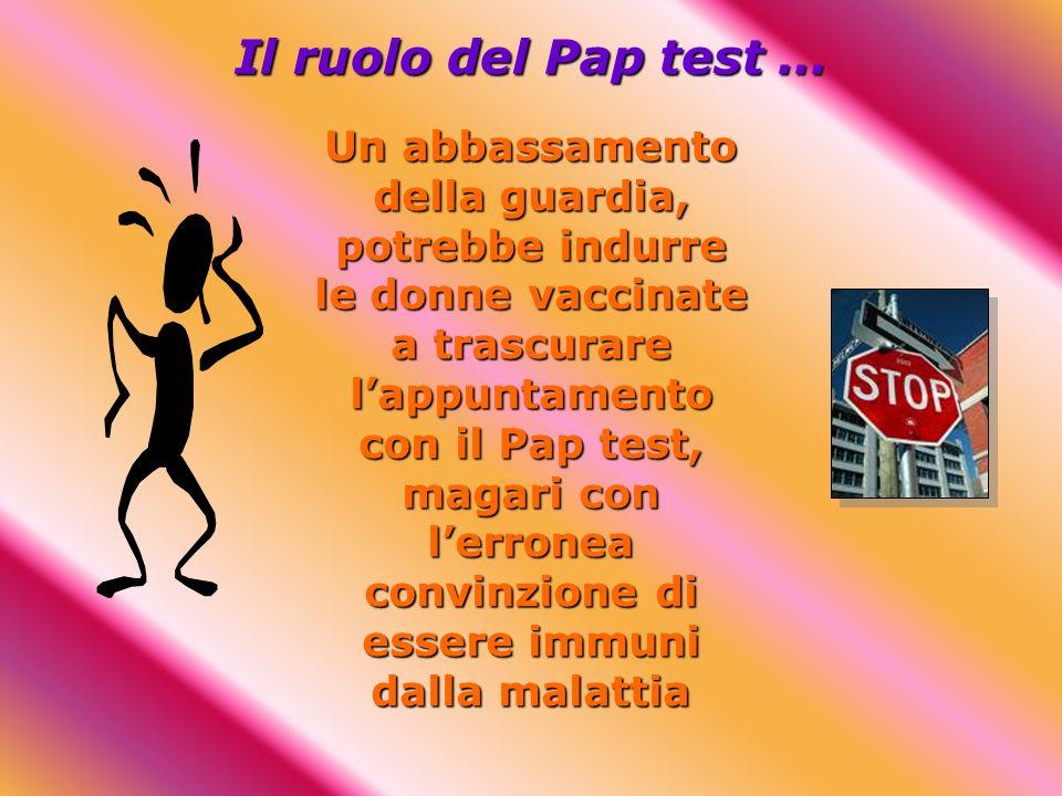 Il ruolo del Pap test …