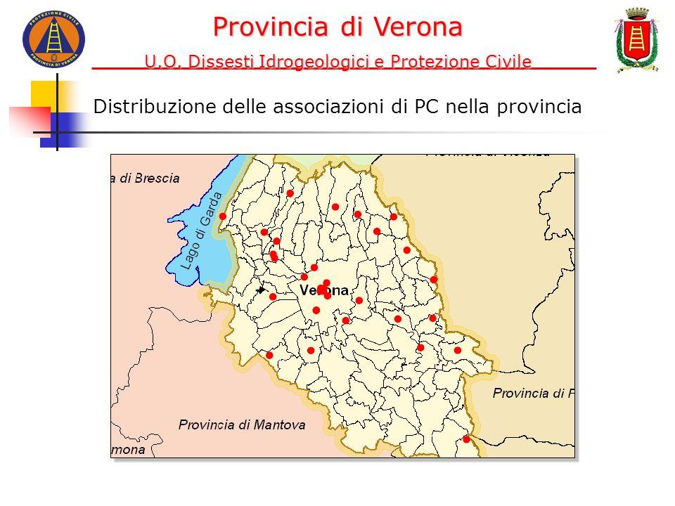 Provincia di Verona U.O. Dissesti Idrogeologici e Protezione Civile.