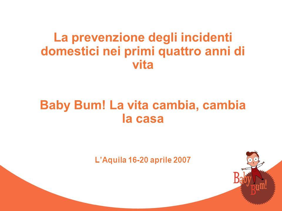 La prevenzione degli incidenti domestici nei primi quattro anni di vita Baby Bum.