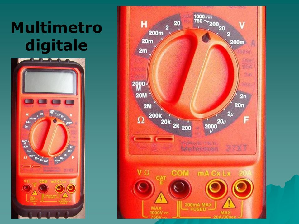 Multimetro digitale