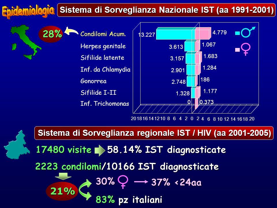 Sistema di Sorveglianza Nazionale IST (aa 1991-2001)