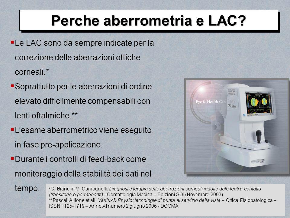 Perche aberrometria e LAC