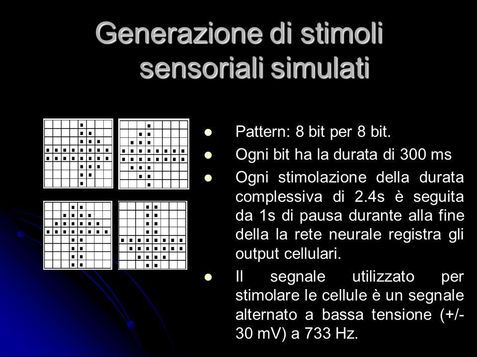 Generazione di stimoli sensoriali simulati