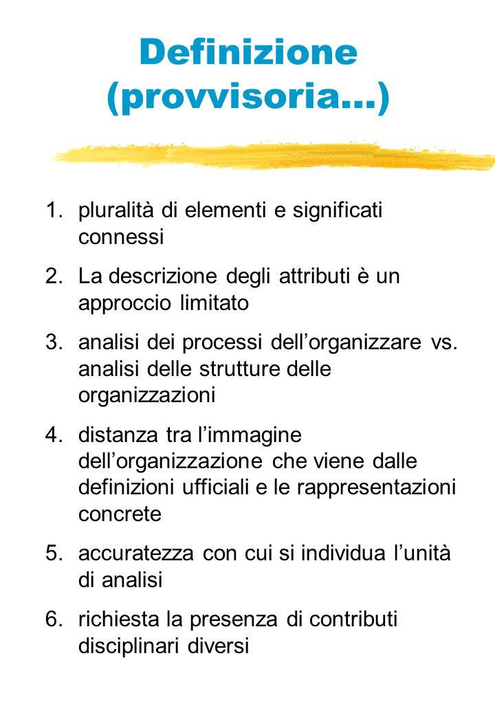 Definizione (provvisoria…)