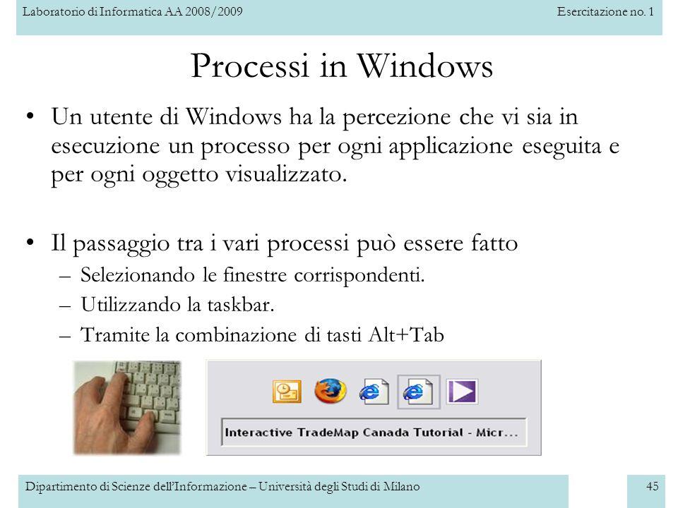 Processi in Windows