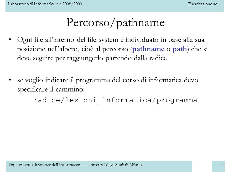 radice/lezioni_informatica/programma