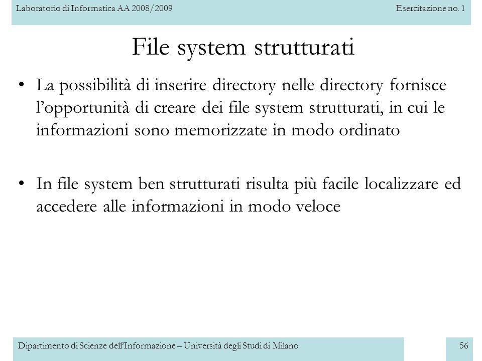 File system strutturati