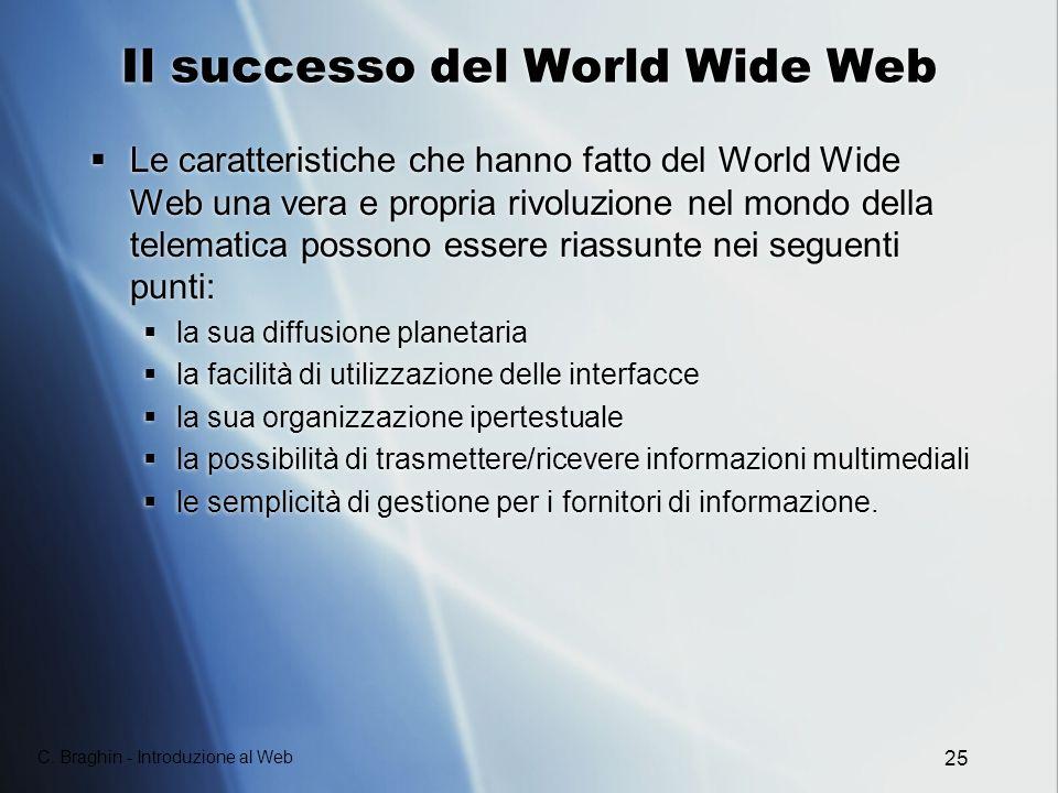 Il successo del World Wide Web