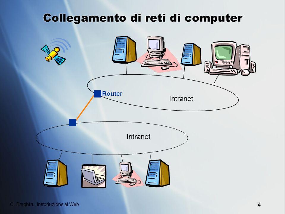 Collegamento di reti di computer