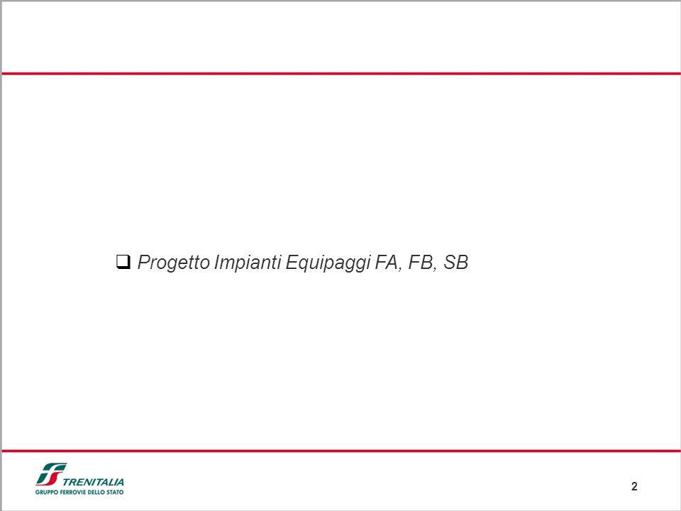 Progetto Impianti Equipaggi FA, FB, SB