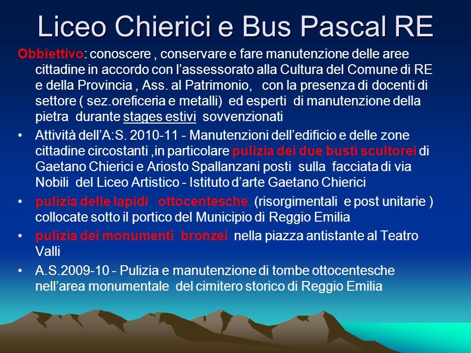 Liceo Chierici e Bus Pascal RE
