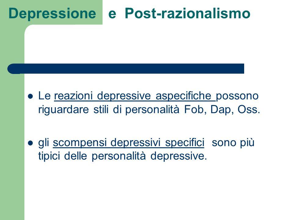 Depressione e Post-razionalismo