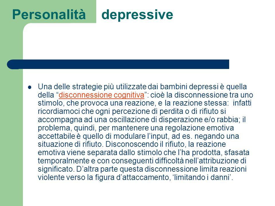 Personalità depressive