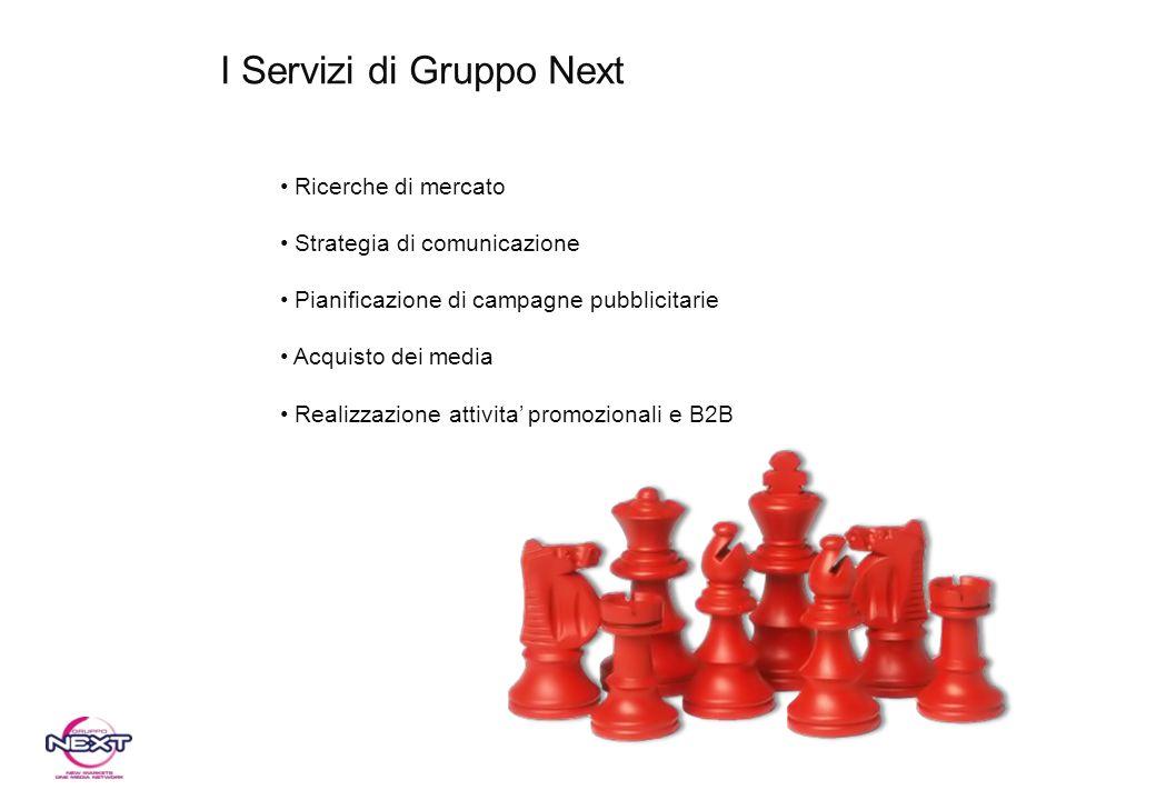 I Servizi di Gruppo Next