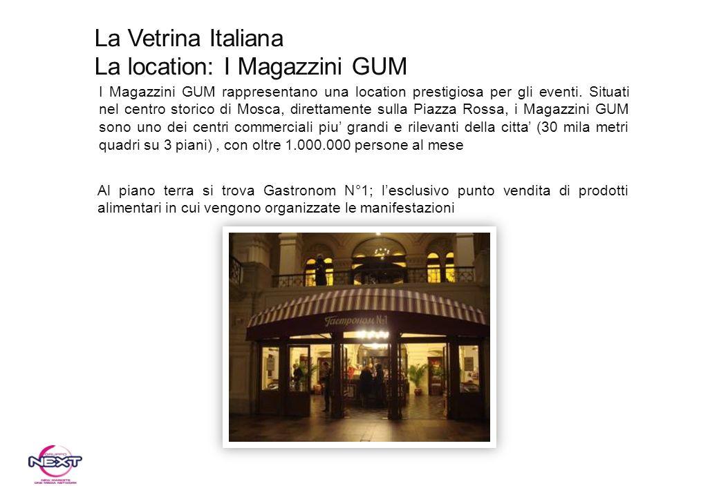 La location: I Magazzini GUM
