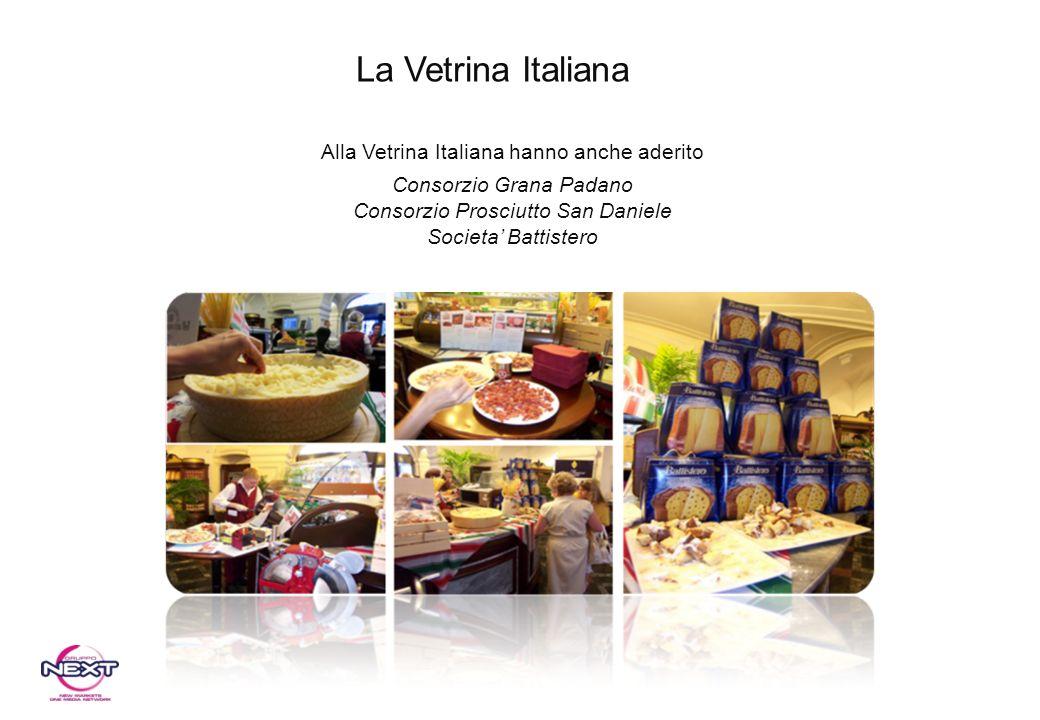 La Vetrina Italiana Alla Vetrina Italiana hanno anche aderito