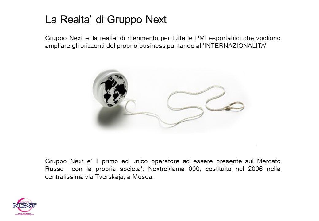 La Realta' di Gruppo Next