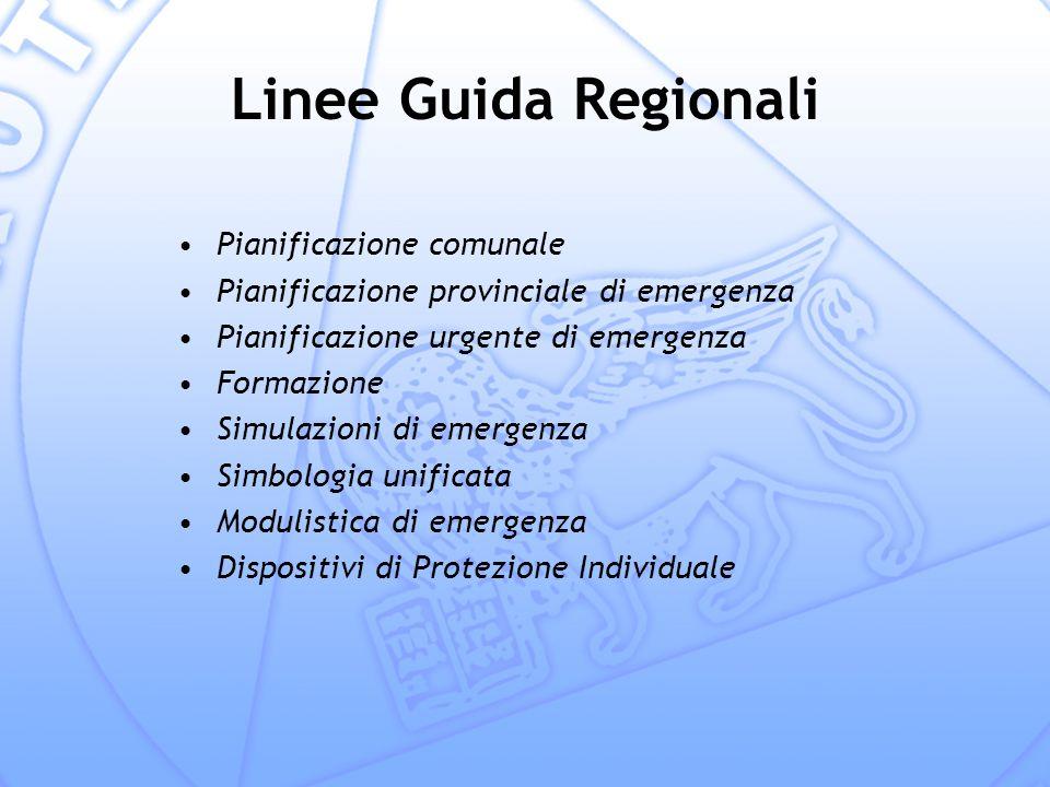 Linee Guida Regionali Pianificazione comunale