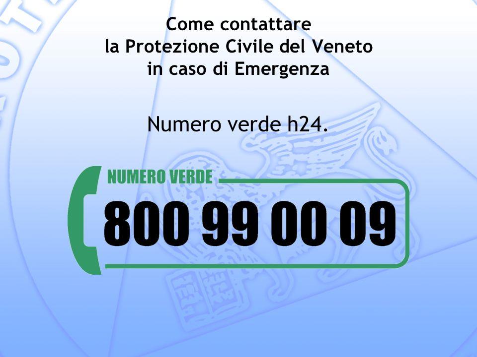 Come contattare la Protezione Civile del Veneto in caso di Emergenza