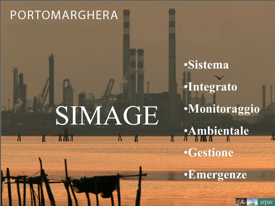 Sistema Integrato Monitoraggio Ambientale Gestione Emergenze SIMAGE