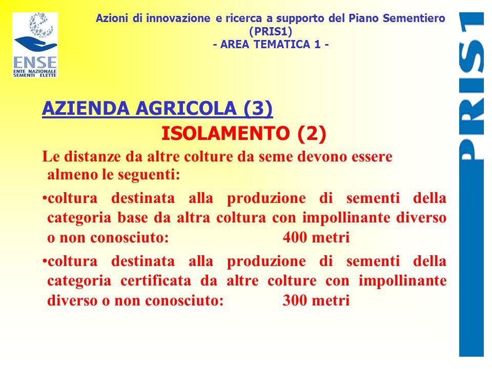 AZIENDA AGRICOLA (3) ISOLAMENTO (2)