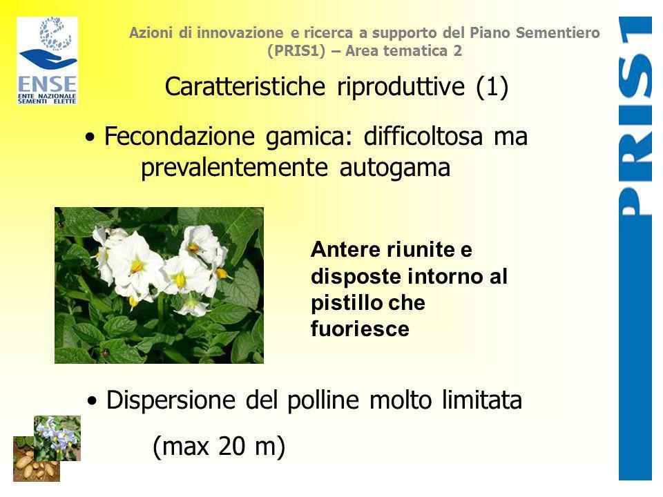 Caratteristiche riproduttive (1)