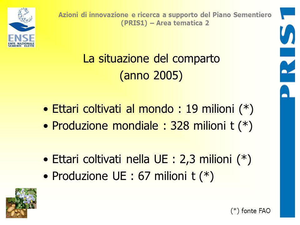 La situazione del comparto (anno 2005)