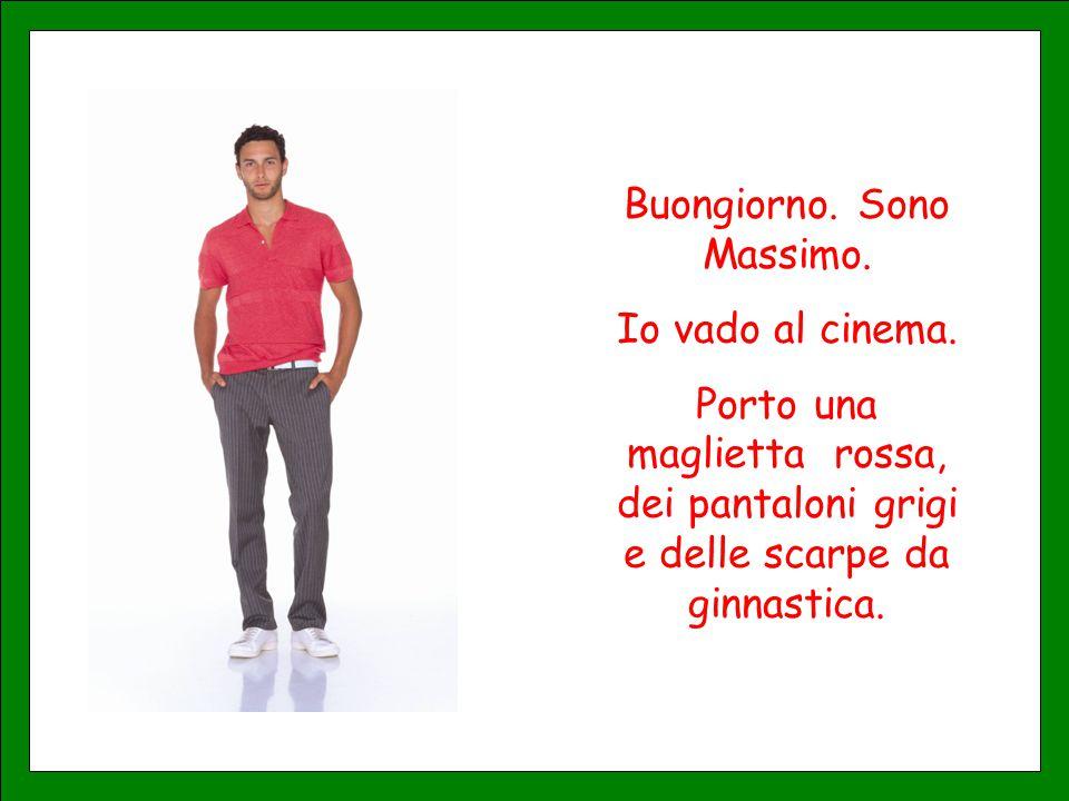 Buongiorno. Sono Massimo.