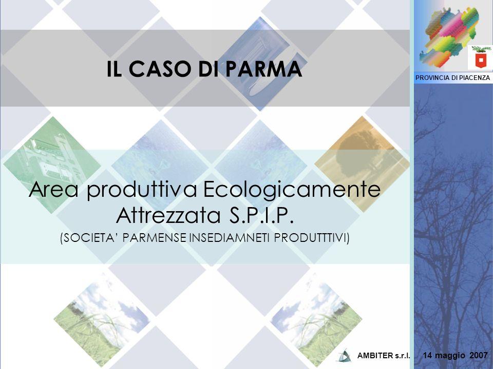 Area produttiva Ecologicamente Attrezzata S.P.I.P.