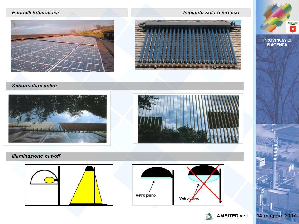 14 maggio 2007 Pannelli fotovoltaici Impianto solare termico