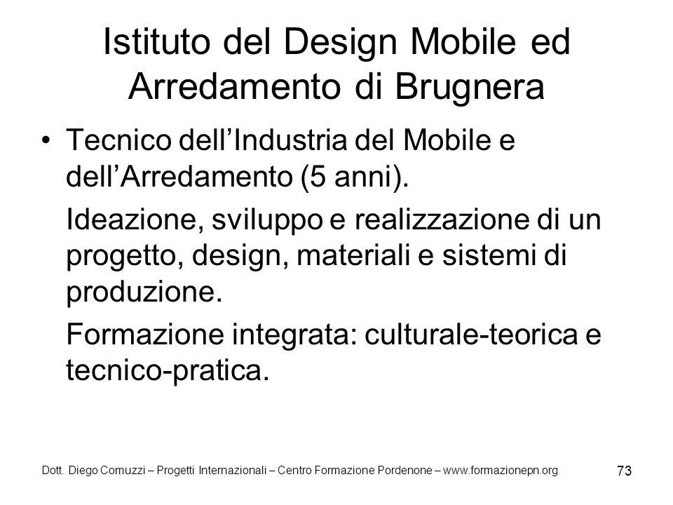 Istituto del Design Mobile ed Arredamento di Brugnera