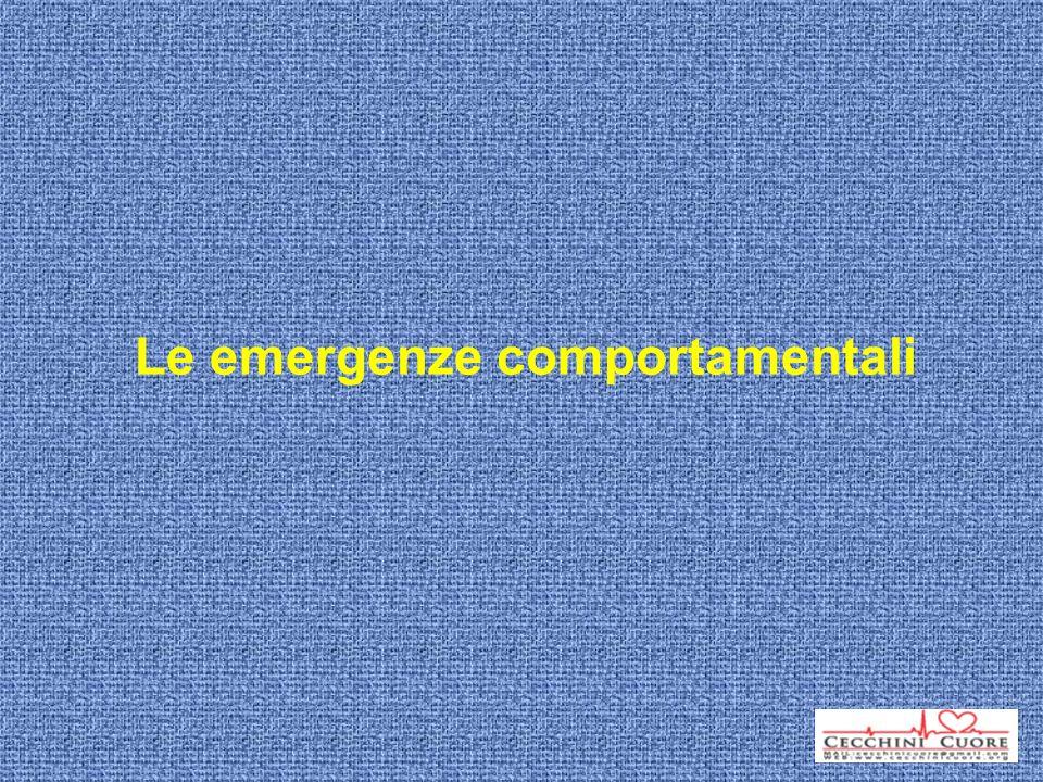 Le emergenze comportamentali