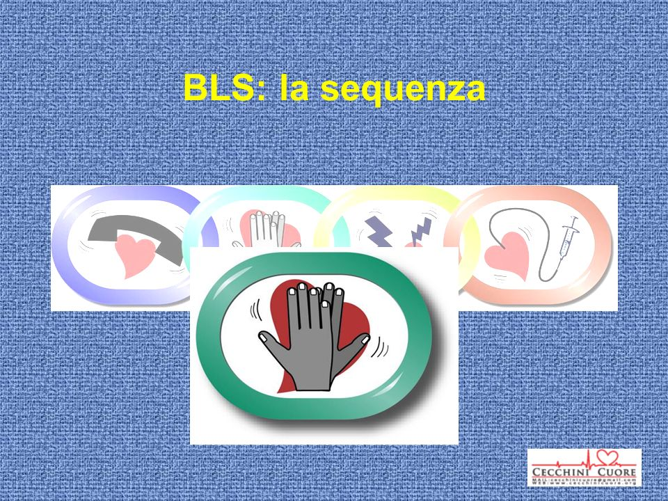 BLS: la sequenza