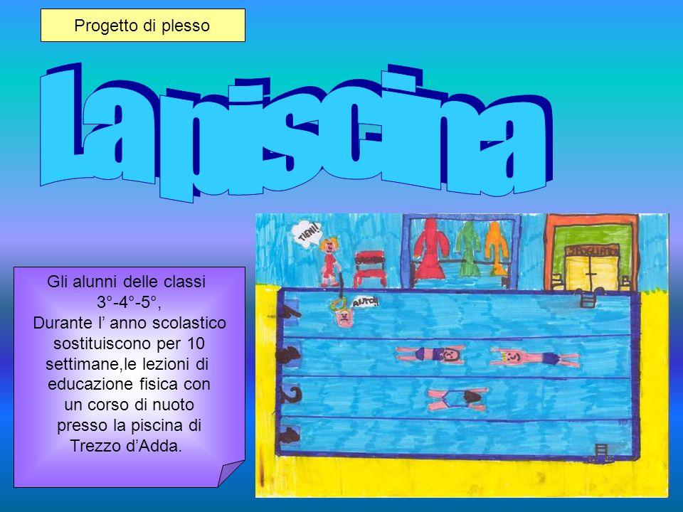 La piscina Progetto di plesso Gli alunni delle classi 3°-4°-5°,