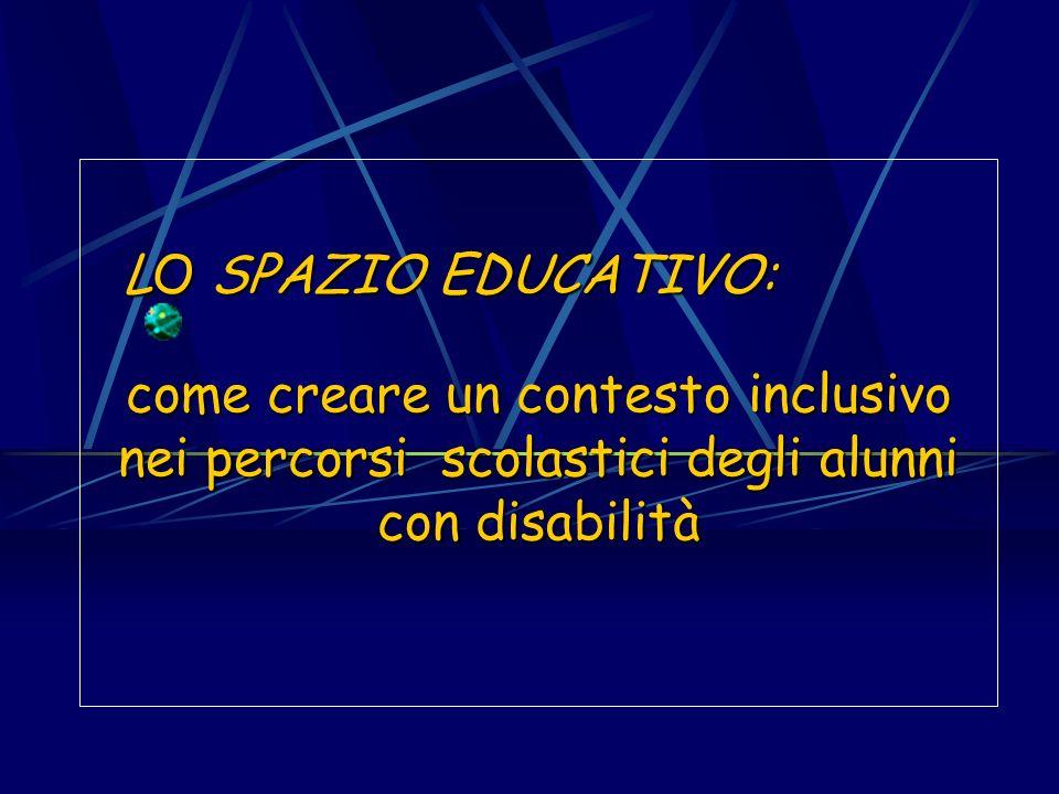 come creare un contesto inclusivo nei percorsi scolastici degli alunni con disabilità